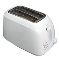 SHEFFIELD 2-SLICE TOASTER *NEW* WHITE