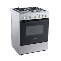 MIDEA 60CM S/S GAS-ELECTRIC STOVE *NEW*