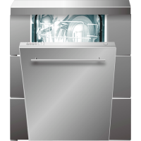 TRIESTE 9-PLACE INTEGRATED DISHWASHER *NEW*