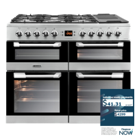 LEISURE 100CM GAS-ELECTRIC RANGE W/GRIDDLE (2ND)
