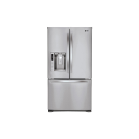LG 615L S/S FRENCH-DOOR F/F (REFURB)