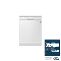 LG 14-PLACE WHITE DISHWASHER (REFURB) QUAD WASH®