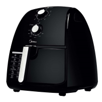 MIDEA BLK AIR FRYER *NEW*