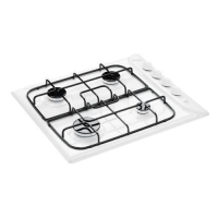 INDESIT 60CM WHITE GAS HOB *NEW REPACK*