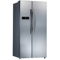 MIDEA 584L S/S DOUBLE-DOOR FRIDGE-FREEZER *NEW*