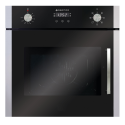 PARMCO 56L 7-FUNCTION BLK OVEN *NEW* SIDE OPENING