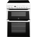 INDESIT 60CM WHITE ELECTRIC STOVE *NEW*