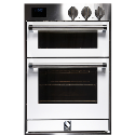 ASCOT WHITE DOUBLE OVEN *NEW* 2YR WTY! STEAM COMBI